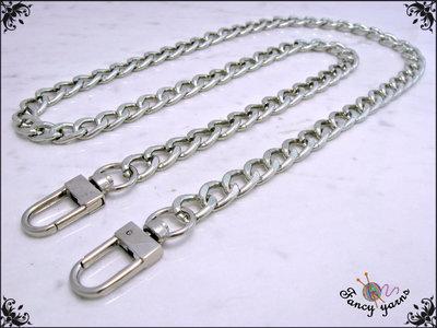 Catena per borsa gourmette diamantata mm. 9 disponibile in