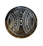Bottoni d'epoca,coppia di rari enormi bottoni molto antichi, bottone vintage, bottoni rari, agée et charmant