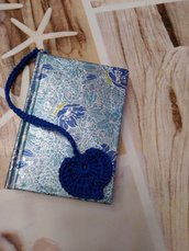 Notebook cuore blu