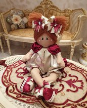 Bambola angelo seduta  Ally