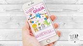 Invito Digitale tema Zoo e animali - Invito Whatsapp - Compleanno bambini - Invito digitale Whatsapp - Festa di Compleanno