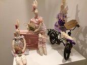 Coniglietti Pasquali, decorando casa