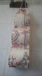 Porta rotoli Carta igienica di stoffa, in tessuto provenzal chic