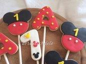 Biscotti decorati Topolino