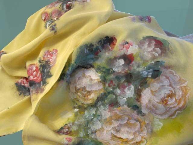 Sciarpa gialla