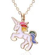 Collana unicorno bambina moda cavallo pendente