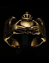 Anello irlandese Claddagh