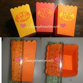Scatoline cartoncino porta confetti,caramelle, marshmallow