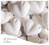 Gessi 150 gessetti profumati cuore cuoricino matrimonio comunione Cresima