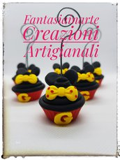 Bomboniera/Segnaposto Cupcake Portafoto in stileTopolino