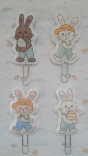Segnalibro coniglietti in feltro