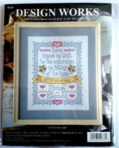 Sampler Anniversario - Kit Ricamo Punto Croce Design Works