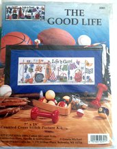 Life Is Good - Kit Ricamo Punto Croce Design Works