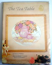 The Tea Table - Kit Ricamo Punto Croce