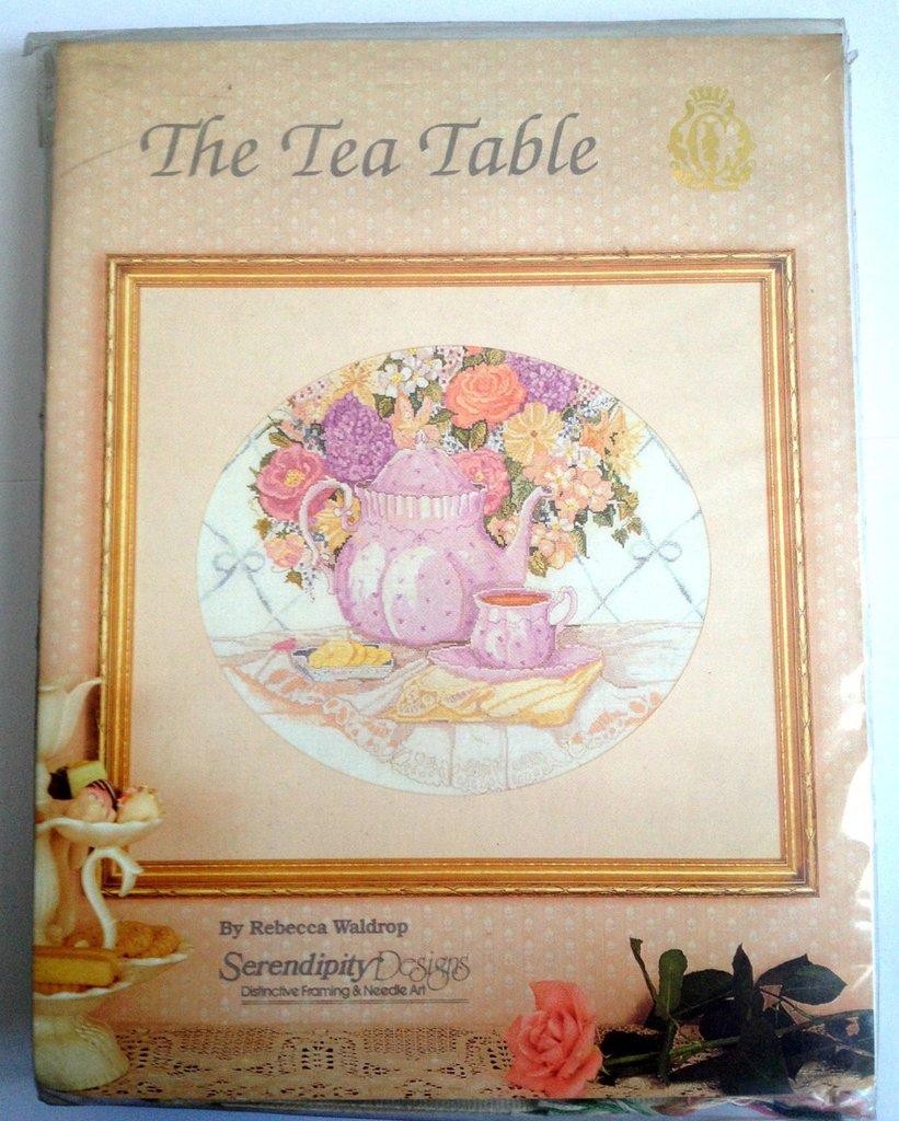 The Tea Table - Kit Ricamo Punto Croce