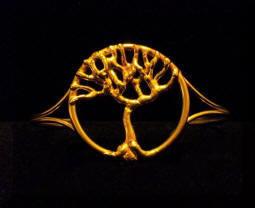 Bracciale in bronzo Albero della vita