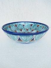Bolo di ceramica, decorato a mano