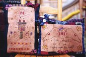 Raggedy Angel Pillow - Schema Ricamo Stitchery Cuscini