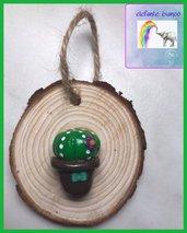 Quadretto legno con cactus 🌵