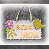Fuoriporta Buona Pasqua in feltro
