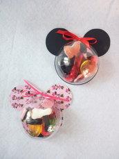Scatolina caramelle topolino e minnie