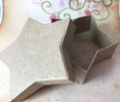 7 scatoline scatola cartoncino avana stella - 9,8 x 3,2 cm offerta