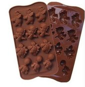 Stampo in Silicone a Dinosauro - Gessi - Fondente - Decorazione Torte - Cioccolato - Sapone - Resina