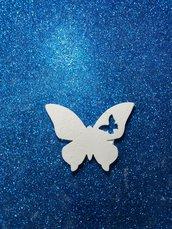 Farfalla in gesso ceramico profumato per fai da te