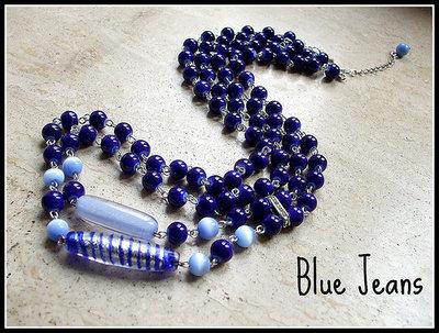 Collana ''Blue Jeans''