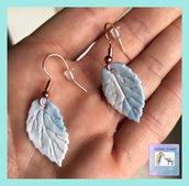 Orecchini pendenti con foglie 🍁