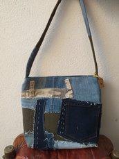 Borsa artigianale in jeans
