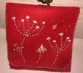 Pochette da borsa - fiori di campo