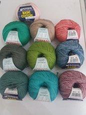 Gomitolo in cotone ..basic cotton