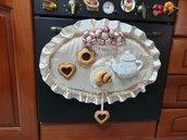 Copriforno romantico con biscotti