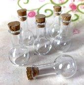 14 pz BOCCETTE boccetta bottiglietta sfera ampolla 30 mm - occasione