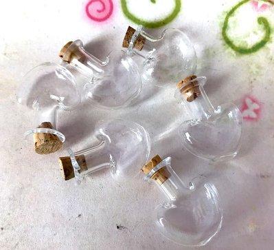 33 pz BOCCETTE boccetta bottiglietta cuore 27 mm - occasione