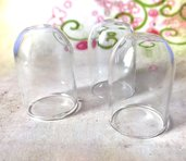 13 AMPOLLA boccetta campana vetro ciondoli - occasione