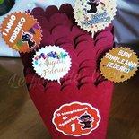 Party kit a tema personalizzato per festa compleanno, battesimo, comunione, cresima, matrimonio