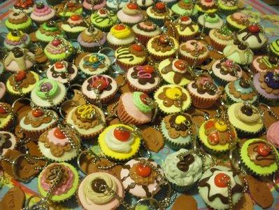 cupcakes portachiavi segnaposto