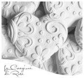 Gessi 50 gessetti profumati cuore stilizzato matrimonio segnaposto comunione Cresima nascita