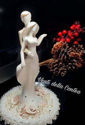 Statuette torta sposi