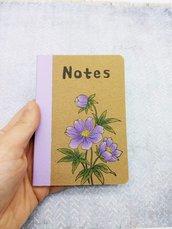 NOTES Mazzo di fiori lilla