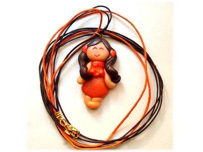 Collana cuoricina doll