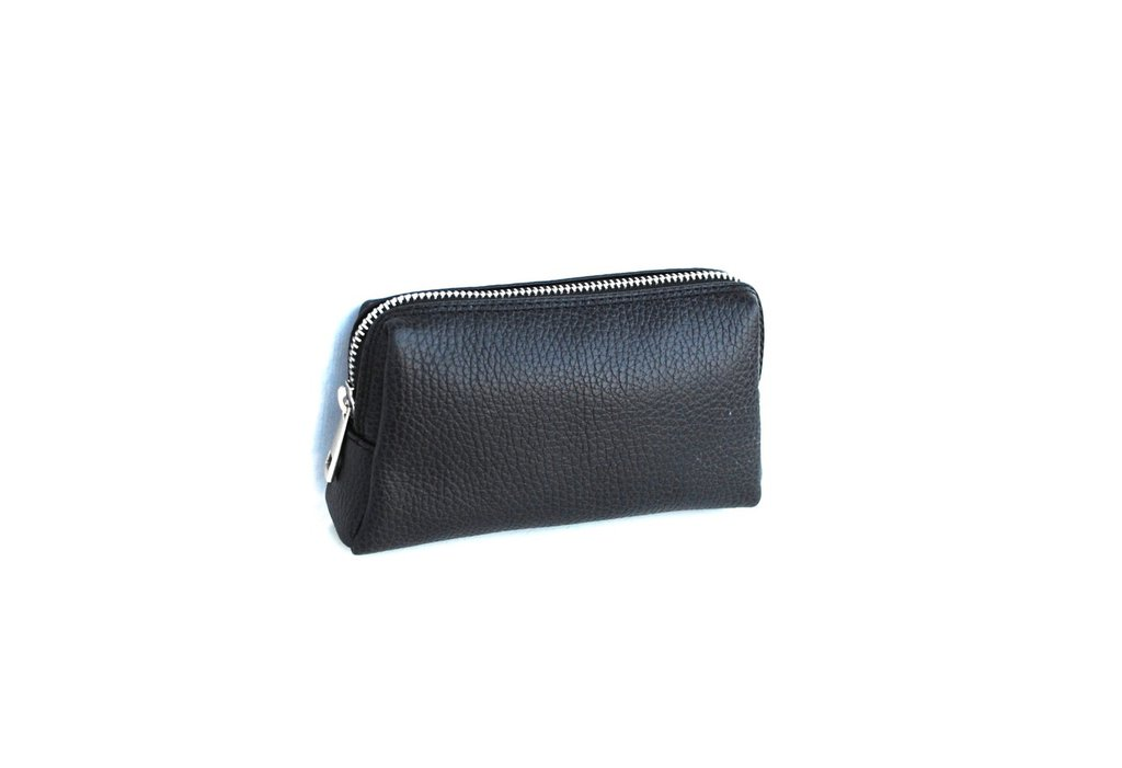 Mini Pochette di Vera Pelle da Uomo. Modello Cosimo. Colore nero