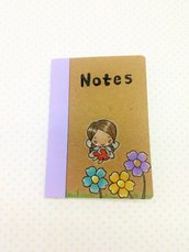 NOTES Fatina con fiori