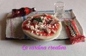 miniatura pizza+coca cola - calamita