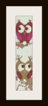 PDF schema bracciale Civetta2 in stitch peyote pattern - solo per uso personale .
