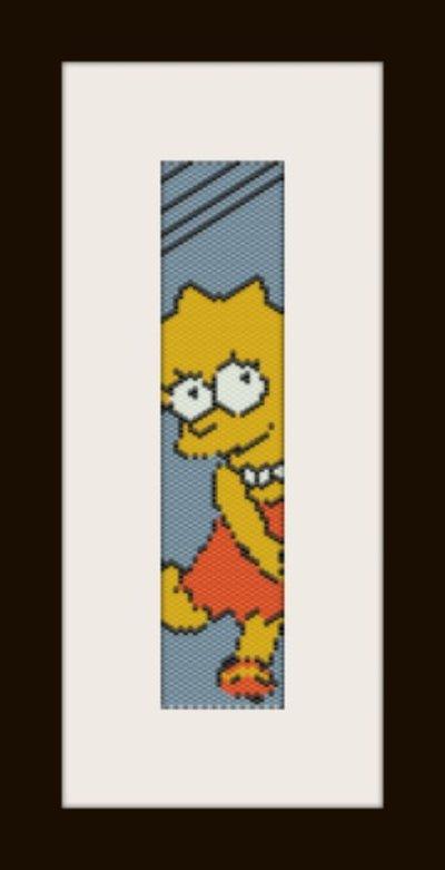 PDF schema bracciale Lisa in stitch peyote pattern - solo per uso personale .