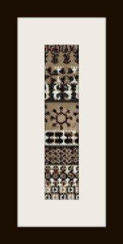 PDF schema bracciale maya in stitch peyote pattern - solo per uso personale .