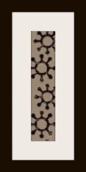 PDF schema bracciale maya2 in stitch peyote pattern - solo per uso personale .